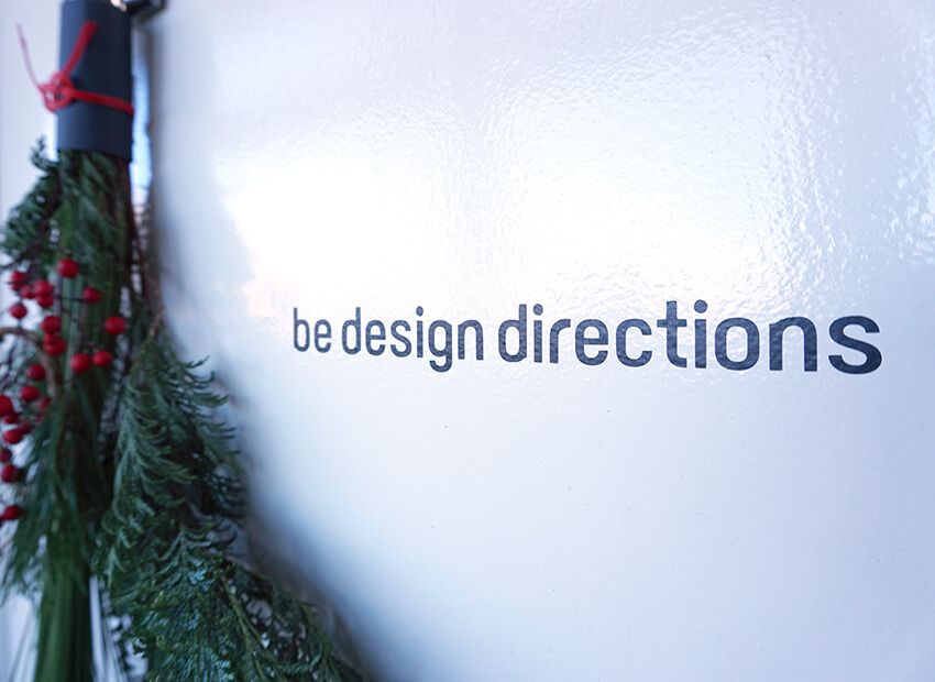be design directions 入り口イメージ