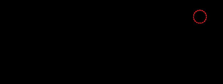 「溢」(いつ、あふ(れる))の4〜6画目の形が異なることが書体によって発生している図。