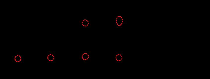 「舟」(ふね)は、「令和」の「令」の字と似たような感じで書体によって形が異なります。