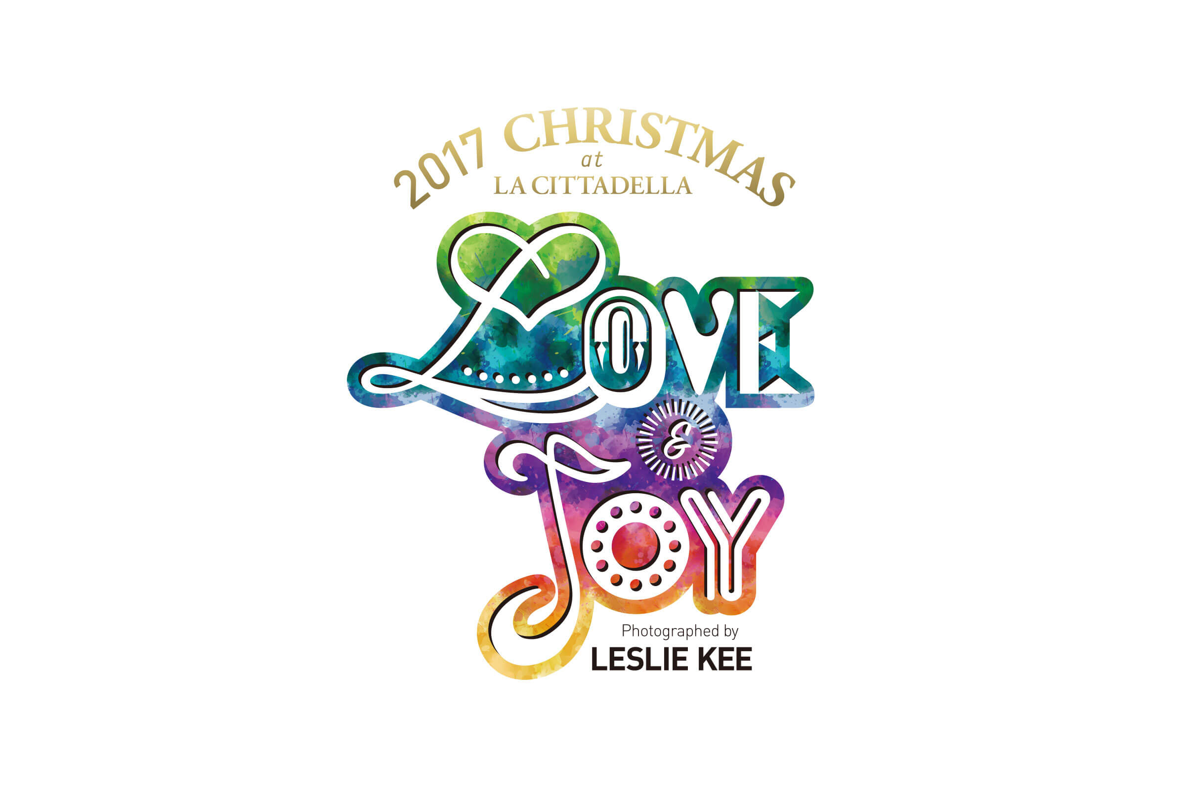 LOVE & JOY Photographed by LESLIE KEE イベントロゴ パターン2