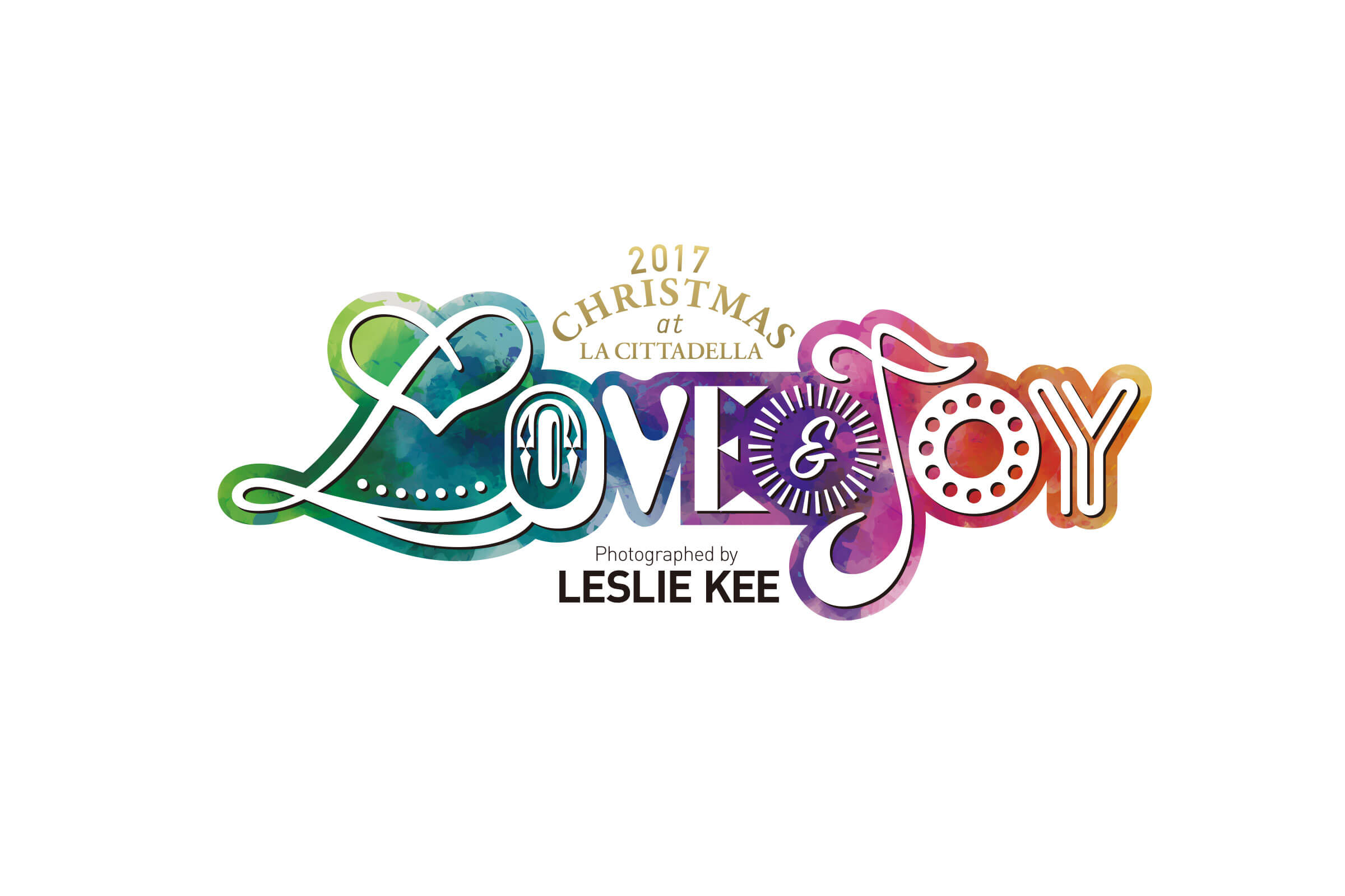 LOVE & JOY Photographed by LESLIE KEE イベントロゴ パターン1